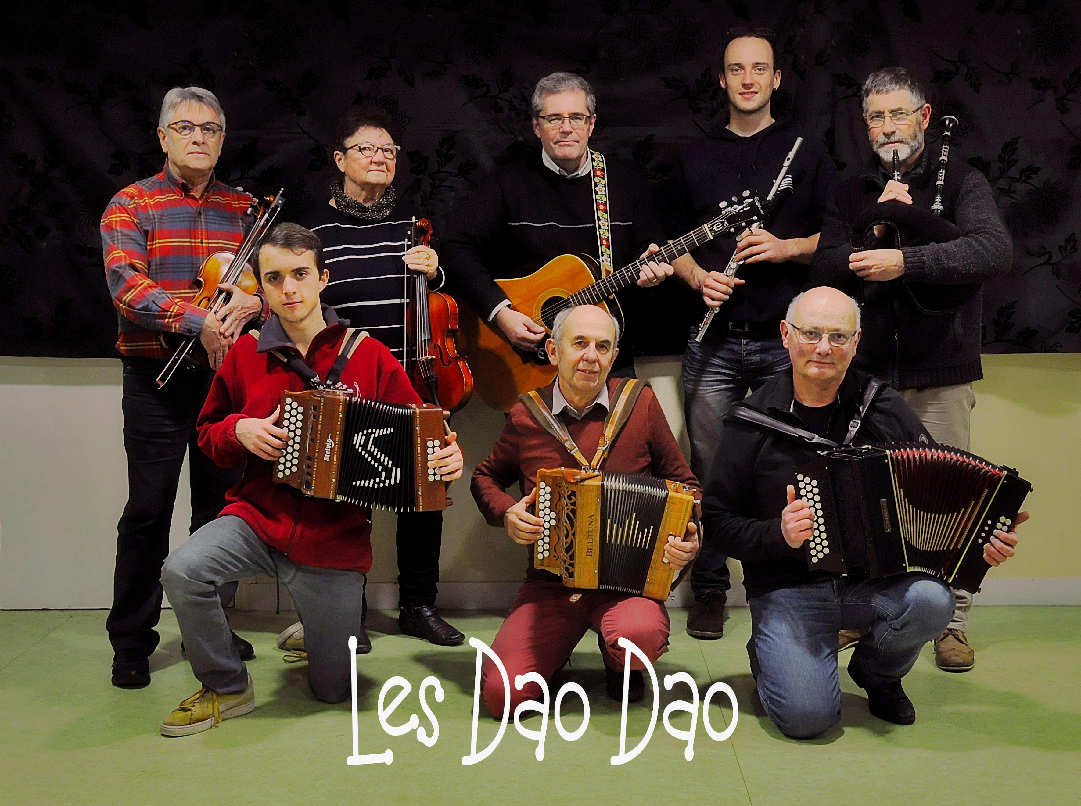 Mini Fest-Noz, soirée Hermine animée par les Dao-Dao @ La Métairie