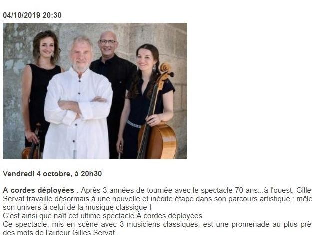 Concert de Gilles Servat @ Le Ponant